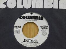 Jimmy Cliff DJ 45 American Sweet - Columbia M- reggae