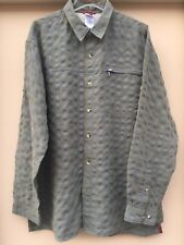 The North Face Men's Size XL Long Sleeve Button Down Oxford Plaid Shirt