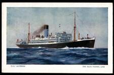 "TSS. ""ANTENOR""THE BLUE FUNNEL LINE. 11320 TONS."