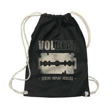 VOLBEAT - Razorblade Tasche Gym Bag Rucksack Turnbeutel