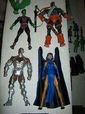 "DC Universe Classics Action Figure 6"" Lot Titans Cyborg Deathstroke Raven Beast"