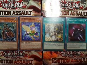 3X Yu-Gi-Oh Ignition Assault Common - YOU PICK FROM LIST!