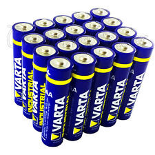 20x Varta AAA batteries Alkaline Industrial LR03 Micro 4003 MN2400 FREE Shipping
