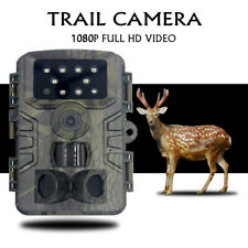 20MP Wildkamera Überwachungskamera Jagdkamera 1080P Fotofalle IR Nachtsicht 120°