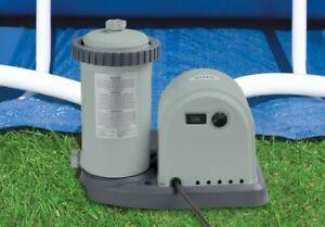 "Genuine Intex Pool PUMP & FILTER 5678 Litres per hour (1500gph) Uses ""A"" Filter"