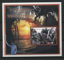 (W0908) COOK ISLANDS 2000, OLYMPIC SUMMER GAMES, BLOCK, MNH/UM, SEE SCAN