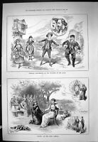 Old Sporting Dramatic News 1886 Sappho Opera Comique Theatre R.A.M. C Victorian