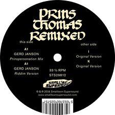 "Prins Thomas - Remixed / Gerd Janson (12"" Vinile) Smalltown Supersound"