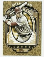 2012 Topps Rare Gold Rush Mike Trout RC Wrapper Redemption Angels 💥⚾️💥💯⚾️👍📸
