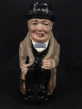 "Royal Doulton Mug ""Winston Churchill"" - 5 1/4"" in Mint Condition"