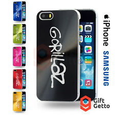 Gorillaz Music Band Vinyl Logo Gift Engraved CD Phone Cover Case- iPhone Samsung