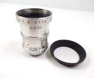 SOM Berthiot 1:1.9 f=10mm Cinor C mount Lens SN#US5232