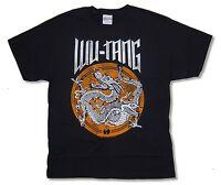 Wu Tang Clan Dragon Black T Shirt New Official