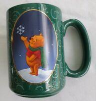 Walt Disney, 1998  Winnie the Pooh,  Large / Heavy Christmas Coffee Mug / Cup