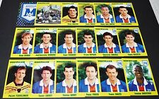 MONTPELLIER HERAULT SC MHSC MOSSON COMPLETE PANINI FOOT 98 FOOTBALL 1997-1998