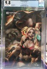 Suicide Squad #1 CGC 9.8 Unknown Comics Edition D Ejikur Variant Cover 2020