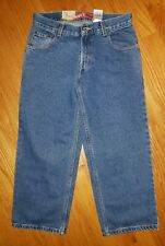 **NWT** LEVIS RELAXED FIT BOYS JEANS 550 SIZE 8 HUSKY (28 X 23)