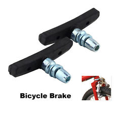 1PC Bicycle Brake Block Pad High Abrasion Rubber Outdoor Cycling Black SH US Hot