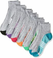 Hanes Women's 6-Pack Cool Comfort Moisture Wicking Arch Support Ankle Socks
