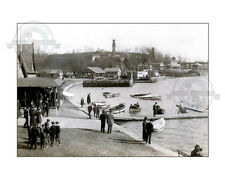 1905 Boat House Row Pre-Art Museum Philadelphia Rowing Schuylkill River Dad Vale