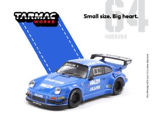 Tarmac Works 1:64 Rauh-Welt Porsche RWB 930 Wally's Jeans