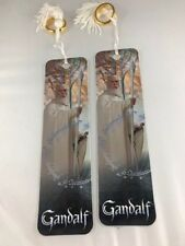 Lord of the Rings Gandalf the White Bookmark with One Ring SET OF 2