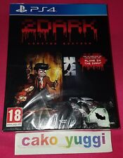 2DARK LIMITED EDITION SONY PS4 PAL NEW SEALED VERSION FRANCAISE BLISTER ABIME