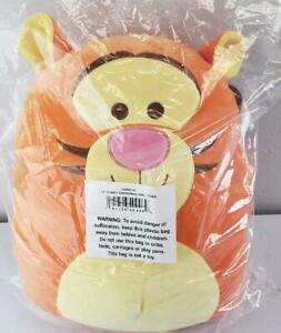"""= Disney 14"""" Squishmallow Plush Tiger Pillow Orange Yellow SQK0314 NEW"""