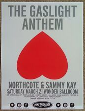 GASLIGHT ANTHEM 2015 Gig POSTER Portland Oregon Concert