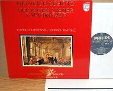 PHILIPS Schutz CAPELLA LIPSIENSIS German Songs & Madrigals KNOTHE 9502 062 NM