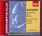 Otto KLEMPERER: BEETHOVEN Symphony No.3 Eroica Leonore Overture 2 3 EMI CD 1955