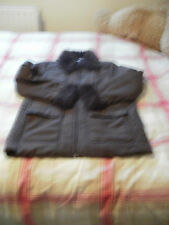 Ladies New Brown lightweight coat/jacket size 14 by Casual Comforts