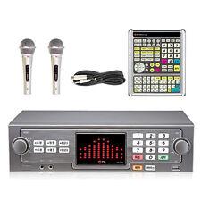 TJ TKR-365HK Home Party Korean Karaoke Machine 500GB HDD System + Remote + 2 MIC