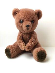 Vintage Dakin 1977 Brown Bear Plush Soft Animal Toy