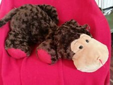 """Large Dandee Brown Platypus Plush Lying Down Style Duck 35"""" Inches Soft Stuffed"""