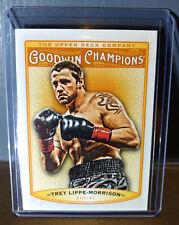 2019 Upper Deck Goodwin Champions Trey Lippe-Morrison #34 Boxing Card