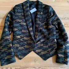 Smythe Anytime Blazer, Camouflage, NWT, Size 4