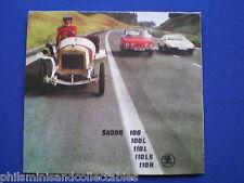 Skoda 100, 110  Cars Range  Sales Brochure 1976