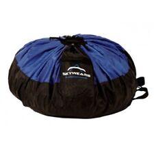 PARAGLIDING QUICK BAG, FAST PACK BAG, PARAMOTOR QUICK BAG BLACK/BLUE