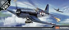 Academy 12457 Chance Vought F4U-1 Corsair 1/72 Scale Plastic Model Kit