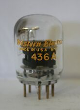 436A western electric (équivalent A2674) utilisé 1 pièce audio tube valve tube