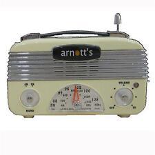 1940 Retro Vintage 40's AM/FM Radio Cream