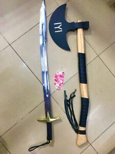 Ertugrul Sword Ottoman Dirilis Resurrection Erutgrul Kayi Sword & Turgut Alp Axe