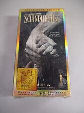 Schindler's List-Widescreen-VHS-THX-2 Tape Set-Steven Spielberg, Liam Neeson