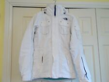 The North Face skiing jacket, white, women's XS, Hy Vent