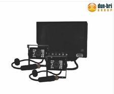 """DBG 5"""" LCD Monitor Audio 2x IR Colour Reverse Camera System 20M Wire Truck Bus"""
