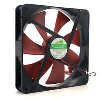 Silent quiet 140mm pc case cooling fans 14cm DC 12V 4D plug computer cooler Fan