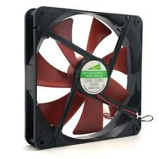 Best silent quiet 140mm pc case cooling fans 14cm DC 12V 4D plug computer cooler