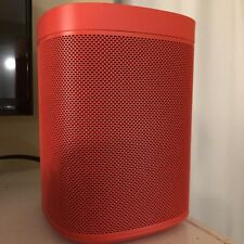 SONOS ONE HAY Red Limited Edition Model Speaker - In Perfect Condition / Has Box