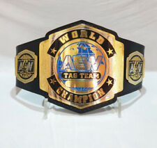 AEW TAG TEAM CHAMPION Wrestling Championship Adult Size Replica Belt